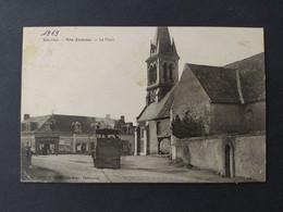 Sainte Jamme - La Place Avec Passage Du Tramway - Sonstige Gemeinden