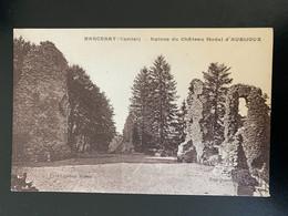 Marcenat. Ruines Du Château Féodal D' Aubijoux - Altri Comuni