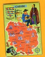 Creuse    Edt    Théojac        N° - Maps