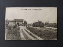 Lhomme - La Gare Des Tramways / Edition Dolbeau - Sonstige Gemeinden