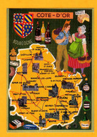 Côte D'Or    Edt   Cap  Théojac        N° - Maps