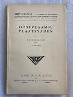 Oostvlaamse Plaatsnamen V - DENDERLEEUW - 1960 - Met Uitvouwbare Kaart - J. De Brouwer - Oost-Vlaanderen - Geschichte