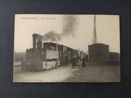 Parigné Le Polin - La Gare Des Tramways / Edition Bouveret - Sonstige Gemeinden