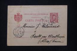 ROUMANIE - Entier Postal De Braïla Pour La France En 1902 - L 91973 - Entiers Postaux