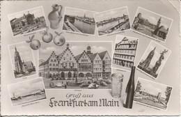 Gruss Aus Frankfurt Am Main. (scan Verso) - Frankfurt A. Main
