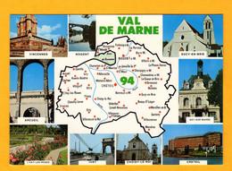 Val De Marne     Edt    Yvon   N° 0025 - Maps