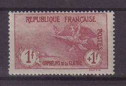 FRANCE : N° 154 * . TB . 1917/18 . ( CATALOGUE YVERT ) . - Ungebraucht