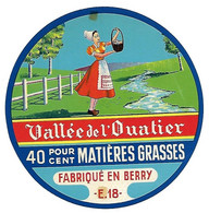 ETIQU VALLEE De L'OUATIER E.18 - Cheese