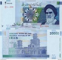 IRAN       20,000 Rials       P-150Aa[1]       ND (2014)      UNC  [ 20000 ] - Irán