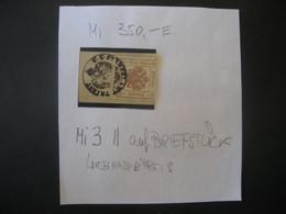 Österreich Kaiserreich Zeitungsstempelmarken 1864- 2 Kreuzer Auf Briefstück Mit Stempel Triest MiNr. 3 - Used Stamps