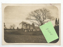 Photographie Belgique Schaffen Près Diest Le Parc De La Villa Cantonements 1919 Photo 8,4x11,8 Cm Env - War, Military