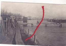 Stuivekenskerke Diksmuide Brugje Over De IJzer TERVATE   Duitse Fotokaart 1° W.O. - Diksmuide