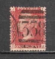 GRANDE BRETAGNE ; 1858-64 ; Y&T N° 26 ; Planche N° 217 ; Oblitéré - Usati