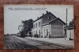 BADONVILLER (54) - LA GARE DE L'EST (POINT TERMINUS DE LA LIGNE BACCARAT-BADONVILLER) - (ETAT) - Sonstige Gemeinden