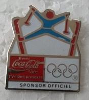 Pin's - Jeux Olympiques - ALBERVILLE 92 - COCA COLA - Ski Acrobatique - - Giochi Olimpici