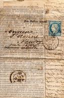 Etoile Pleine + CàD PARIS 60 (section De Levée) Du 9 JANV 71 Sur N°37 Ballon Poste N°19 Par LE GAMBETTA  Certificat  SUP - Guerra De 1870