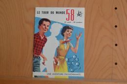 Will.Le Tour Du Monde 58 - Expo 58 - éd. Publi-Art - EO (1958) - Advertentie