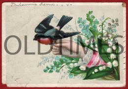 "PORTUGAL - LISBOA - OURIVESARIA E RELOJOARIA E LOUÇAS "" JOAO CARLOS D'OLIVEIRA "" - 1895 ADVERTISING CARD - Portugal"