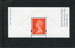 GREAT BRITAIN - 1995  PLAIN LABEL ROUL. 8  MINT NH  SG 1671ma - Machins