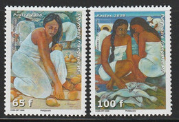 POLYNESIE - N°829/30 ** (2008) Femmes En Polynésie - Unused Stamps