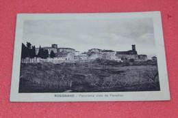 Livorno Rosignano Marittimo Visto Dal Paradiso 1916 Ex Pisa Ed. Giuntini - Livorno