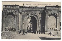 9129 - PERUGIA PORTA S PIETRO ANIMATA 1920 CIRCA - Perugia