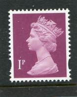 GREAT BRITAIN - 1997  MACHIN  1p  DLR   MINT NH  SG Y1667 - Machins