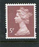 GREAT BRITAIN - 1993  MACHIN  5p  2B   MINT NH  SG Y1670 - Machins