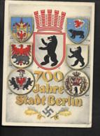 DR Ak Berlin / Jubiläumskarte 700 Jahre - Oorlog 1939-45