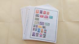 Lot N° TH 373 MONDE Un Lot Divers Sur Page D'albums - Verzamelingen (in Albums)