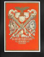DR Ak München / Festkarte Tag Der Deutschen Kunst - Oorlog 1939-45