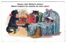 CHATS Humanisés - CATS - KATZE - Always Take Mother's Advice! - Cats