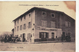 CPA   PONTCHARRA    Hôtel De La Croisette - Pontcharra-sur-Turdine