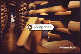 (25). Doubs. Serie Surprise. Cave D'affinage à Comté Au Fort St Antoine Gruyere & Chateau De Joux - Unclassified