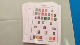 Lot N° TH 368 FINLANDE GR.BRET.  Grece Collection Sur Page D'albums - Sammlungen (im Alben)