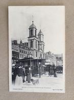 SEDAN-La Place D'armes Et Les Tramways - Sedan