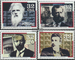U.S. 2695-2698 (complete Issue) Unmounted Mint / Never Hinged 1996 Pioneers The Medientechnnik - Nuovi