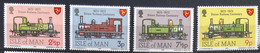 Isle Of Man MNH 1973 - Trains - Isla De Man