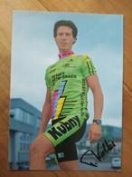 Cyclisme - Carte Publicitaire KUBNY : Felix KOLLER - Radsport