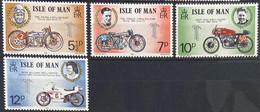 Isle Of Man MNH 1975 - Motorcycle - Isla De Man