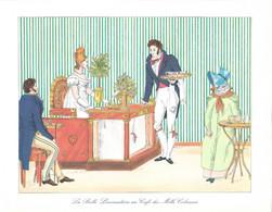Publicité Pharma + ISONUTRINE + Coll Des CAFES De PARIS : La Belle Limonadière, Café Des Mille Colonnes +Laboratoire LEO - Advertising