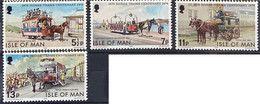 Isle Of Man MNH 1976 - Horse , Trams - Isla De Man