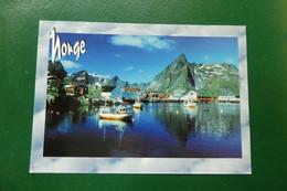 C13/ HAMMOY NORVEGE   DIMENSION CARTE 17X 12 TIMBREE - Norvège