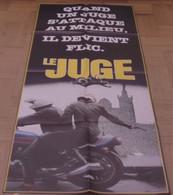 AFFICHE CINEMA ORIGINALE FILM LE JUGE PREVENTIVE PERRIN DUVAL 1984 MICHEL FRENCH CONNECTION MAFIA MARSEILLE - Posters