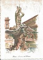 Roma - Fontana Del Tritone - Other Monuments & Buildings