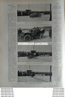 1903 DEAUVILLE - CONCOURS D'AUTOMOBILES - LES 500 METRES - JEANDRÉ ( MORS ) GASTÉ ( AUTOMOTRICE ) - WAGNER ( DARRACQ ) - 1900 - 1949