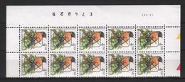618 * BUZIN PRE Datumstrook * Nr 825 P6a * 13-5-91 * Postfris Xx - 1985-.. Pájaros (Buzin)