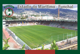 CP.STADE .   FUNCHAL  PORTUGAL  ESTADIO  DE MARITIMO     # CS. 580 - Calcio