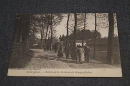 RARE,ancienne Carte De 1902 , Auderghem,entrée De La Laiterie Du Rouge-Cloître , à Voyagé,pour Collection. - Auderghem - Oudergem