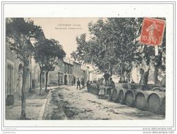 11 LEZIGNAN BOULEVARD CHATEAUDUN AVEC BARRIQUES CPA BON ETAT - Other Municipalities